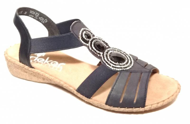 4aa87c8f7 Босоножки Rieker арт.61659-14 - Сеть обувных магазинов XShoes