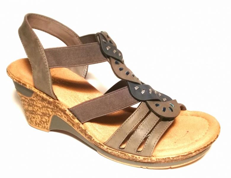 11a883de5 Босоножки Rieker арт.60668-42 - Сеть обувных магазинов XShoes